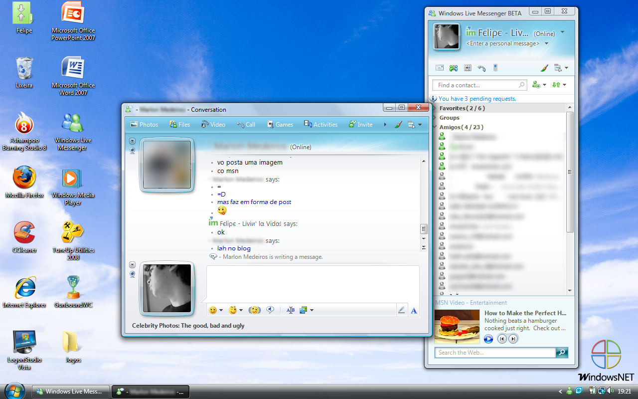 Windows Live Messenger 2008 Windows Live Messenger 9