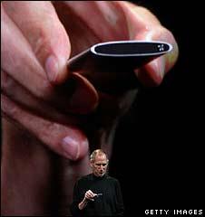 Novo iPod é mais leve e fino