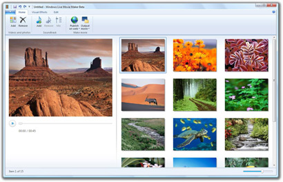 Windows Live Movie Maker Beta