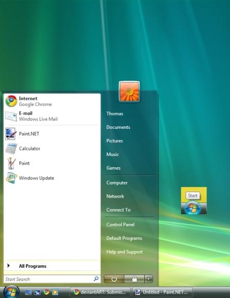 Deixe seu Vista no maior estilo Windows Seven!