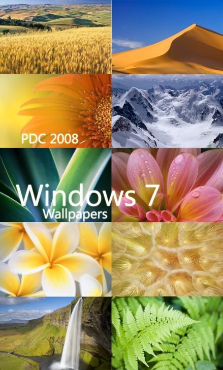 Wallpapers oficiais do Windows 7!