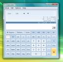 Calculadora do Windows 7 no Vista