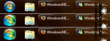 Ícones grandes na barra de inicialização
