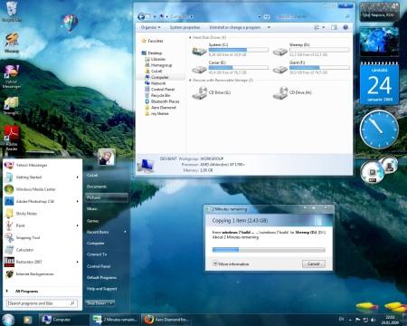 Aero Diamond para Windows 7 - Atualizado
