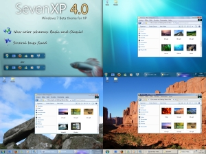 Preview oficial do Seven XP 4.0