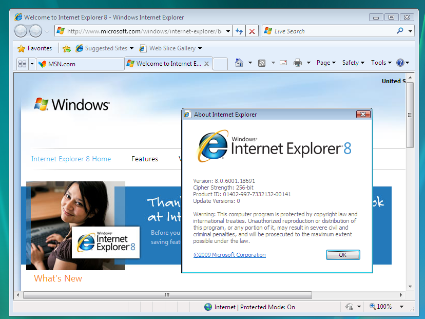 Internet Explorer 8 Download