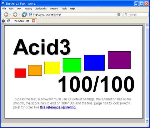 Arora Browser: Novo Browser Alternativo
