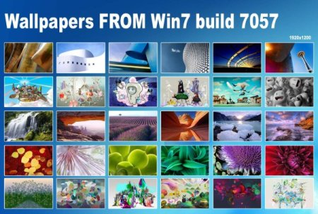 Wallpapers da build 7057