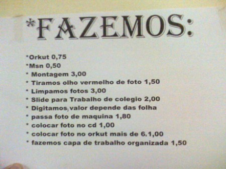 Os melhores preços do Brasil! Só na Bahia Lanhouses!