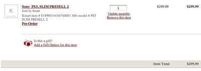 Anúnio de pré-venda do PS3 Slim