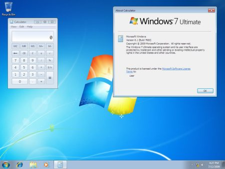 Windows 7 RTM
